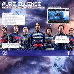 Homepage website Pure Ellende (band) Utrecht