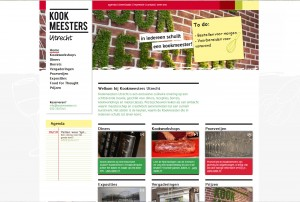 Dit is de Homepage van Kookmeesters Utrecht
