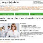 Vergelijk Juristen Homepage