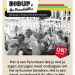 Bouba Dioup Mobiele Website Screen 1