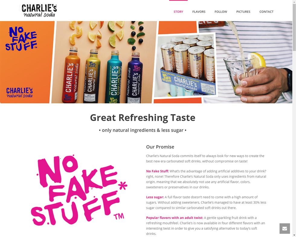 Charlies - homepage