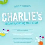 Charlies natural soda