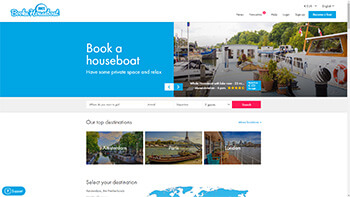Book a houseboat Amsterdam