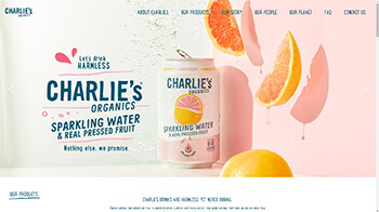 Charlie's Organics Sparkling Water