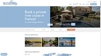 Book a barge river cruise France